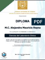 Ficha Técnica - Entrega de Documentos de Diplomado en Ciencias Del Laboratorio