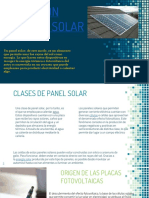 Energias Alternativas. Paneles Solares