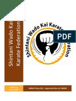 Approved kata wado kai karate