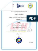 Técnicas de Control y Operación Del Almacén (1)