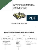 03. Validasi Metode Mikrobiologi