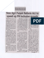 Bandera, Mar. 26, 2019, New Agri Patent Reform Act to speed up PH inclusive growth.pdf
