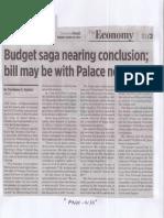 Business World, Mar. 26, 2019, Budget saga nearing conclusion bill may be with Palace next week.pdf