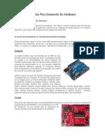 Tarjetas Para Desarrollo De Hardware.docx