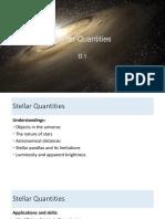 d.1 - Stellar Quantities - Student