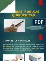 SUTURAS Y AGUJAS QUIRURGICAS UPCH 2018 (1).pdf