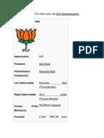 BJP OF INDIA.docx