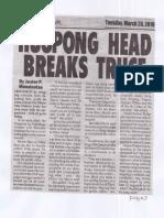 Peoples Journal, Mar. 26, 2019, Hugpong head breaks truce.pdf
