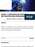 Uso y Cuidados de EPP CursoSST
