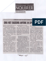 Philippine Daily Inquirer, Mar. 26, 2019, GMA not backing anyone in Speaker race.pdf