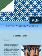 Teatro y  música en Grecia