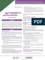 Convocatoria API Comunitario 2019 Marzo 8