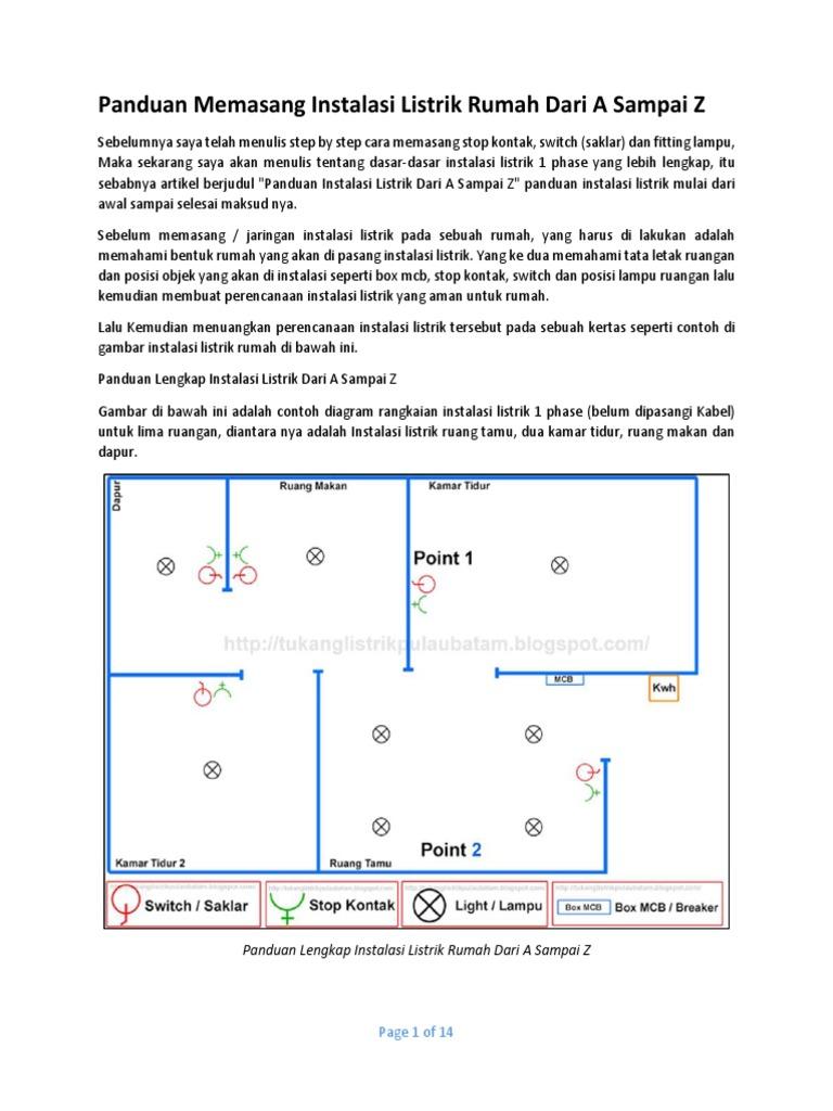 Cara pasang instalasi listrik stop kontak,panduan memasang instalasi listrik