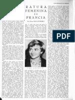 La literatura femenina, de Elena Poniatowska, Revista de la Universidad de México, núm. 10, junio, 1957.pdf