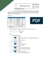 Perhitungan Rudder