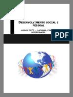 Manual DSP - 6671 - Culturas, Etnias e Diversidades