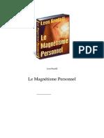 Le Magnetisme Personnel-c