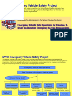 Emergency Vehicle Safe Operations Powerpoint