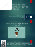 Modelamiento de Nicho Ecológico Uncp