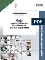 17.- Guía para la elaboración de la Planeación didáctica argumentada.pdf