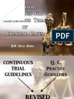 Revised Guidelines for Continuous Trial (REVISED 013018)