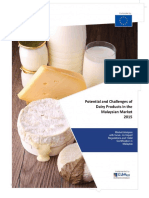 The Potential and Challenges of Dairy Products in the Malaysian Market 2015