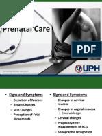 Prenatal Care - Dr Julita