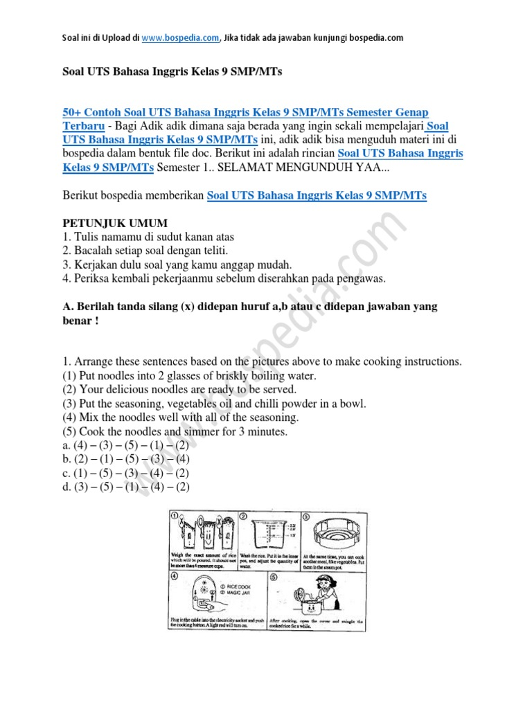 50 Soal Bahasa Inggris Kelas 11 Semester 2 Dan Jawabannya Download File Guru