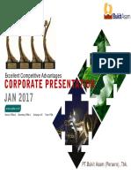 Corporate Presentasi Jan 2017