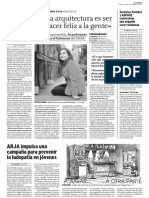 07 | Diario de Logroño | Spain | Interview Belinda Tato