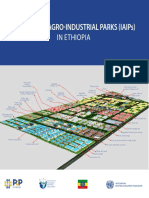 Information on Integrated Agro Industrial Parks in Ethiopia