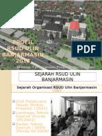 Profil RSUD Ulin Persiapan Akreditasi FK Unlam - Terbaru 2016