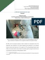 Método de Estudio de Caso (Ejemplo) Pandemia de Gripe