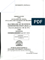Bachelor of Business Administration(b.b.a.) Part II(Semester III & IV)-2