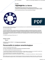 Bases de La Caracterologie - Caractérologie - Caractères - Personnalités - Formation