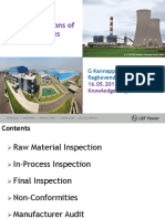 7. Shop Inspections of Alloy Pipes