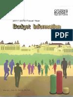 Myanmar Citizens Budget 2017-2018 - GoM 2017