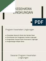 PPT Kesehatan Lingkungan