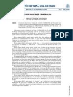 Corrección de errores y erratas de la Orden VIV/984/2009, de 15 de abril, por la que se modifican determinados documentos básicos del Código Técnico de la Edificación, aprobados por el Real Decreto 314/2006, de 17 de marzo, y el Real Decreto 1371/2007, de 19 de octubre