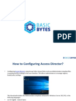 How to Configuring Access Director?