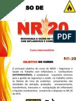 Curso NR20 nível intermediário
