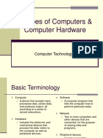 Computer Terminology--Types of Computers