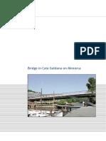 Bridge in Cala Galdana