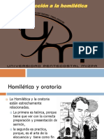 Pres. 1 Introduccion a La Homiletica