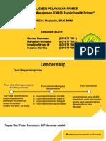 Manajemen Pelayanan Primer Kel.5