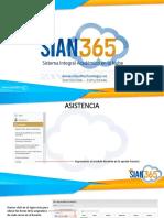 manual de uso de Sian 365
