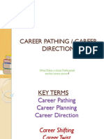 Career Pathing Drving Your Life