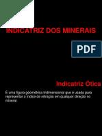 Aula4 - Indicatriz Dos Minerais