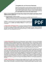 Distribución Geográfica De Las Provincias Petroleras.docx