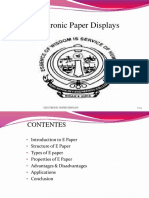 Electronic Paper Displays PPT